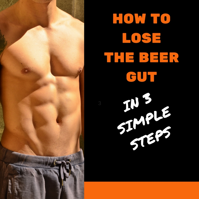 how to lose the beer gut